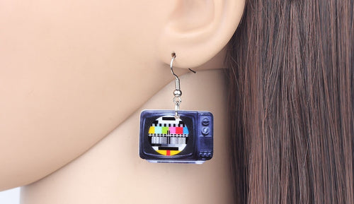 Classical Television Earrings