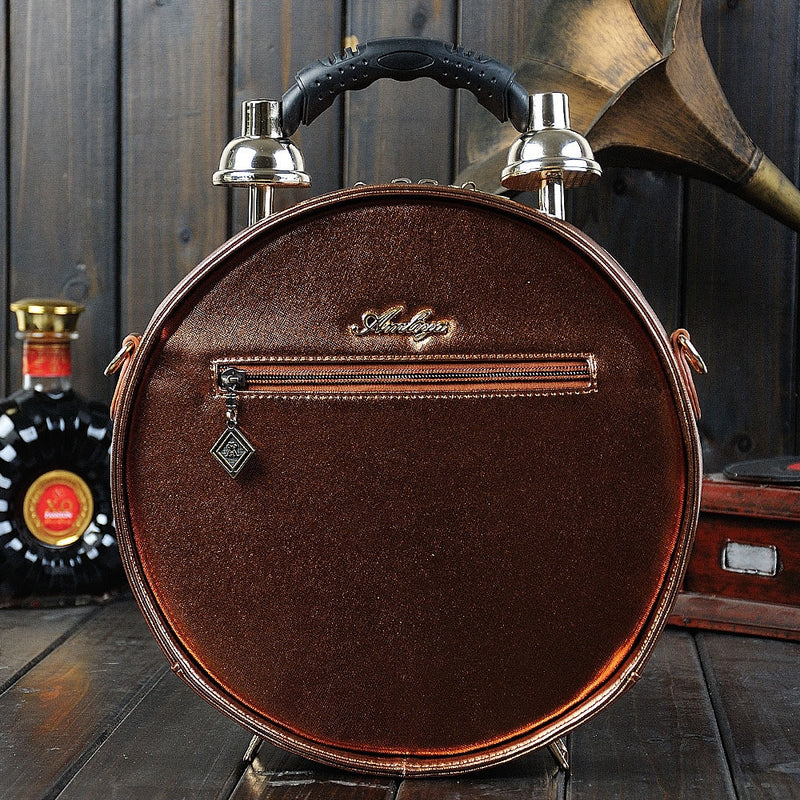 Vintage Alarm Clock Bag