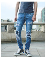 Ripped & Distressed Skinny Jeans