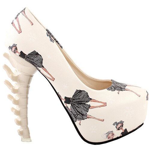 Bone Heel Platforms