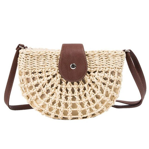 Handmade Rattan Straw Bag