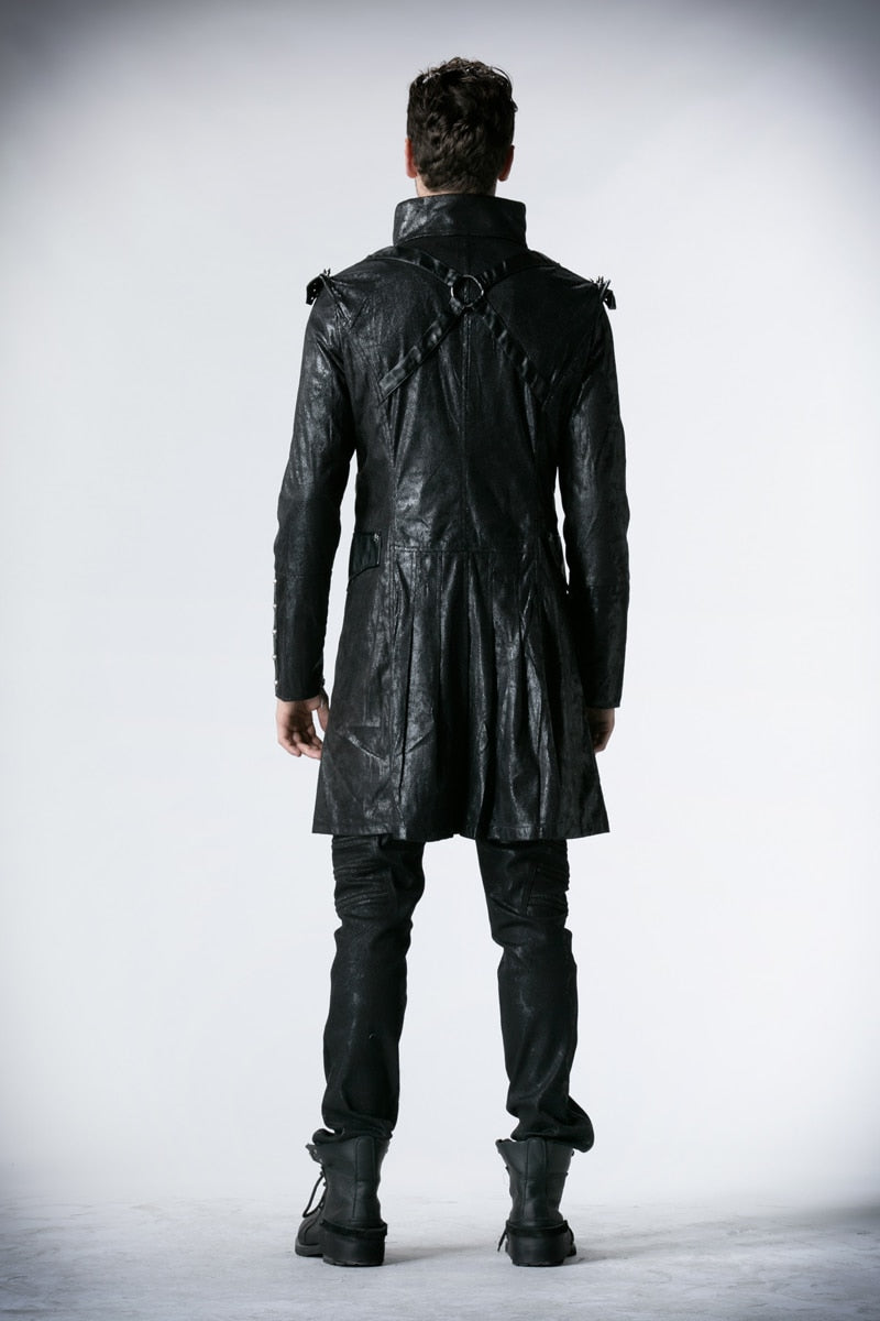 Military Gothic Punk Overcoat