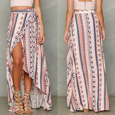 Tribal Floral Skirt