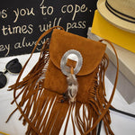 Vintage Hippy Tasselled Bag
