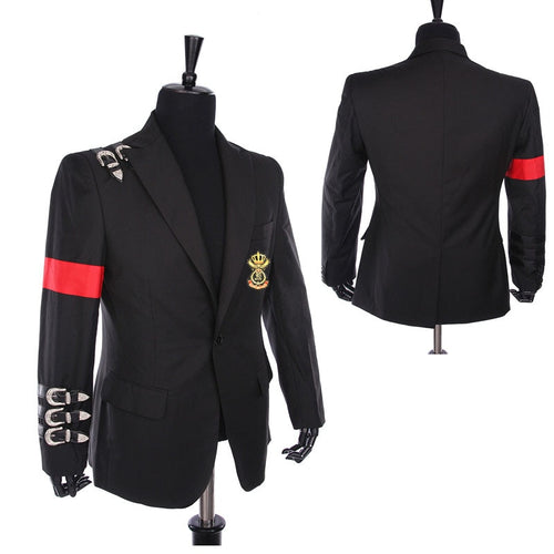 Classic MJ Michael Jackson Style BAD Jacket Replica