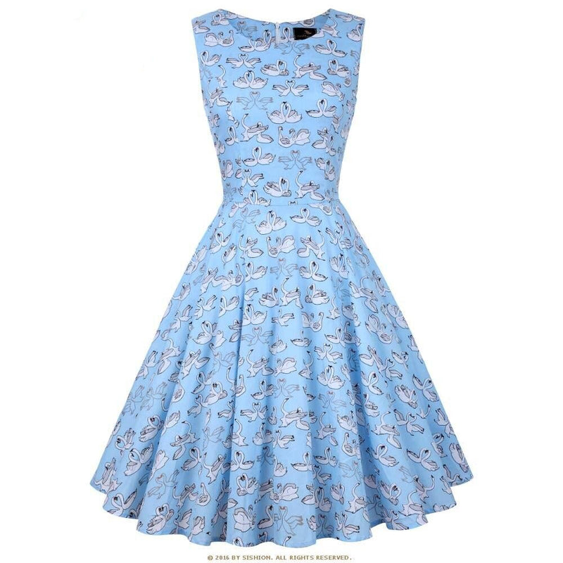 60s Rockabilly Dress