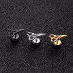 Scissors Stud Earrings