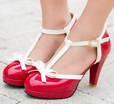 Patent Pretty Bow Shoes