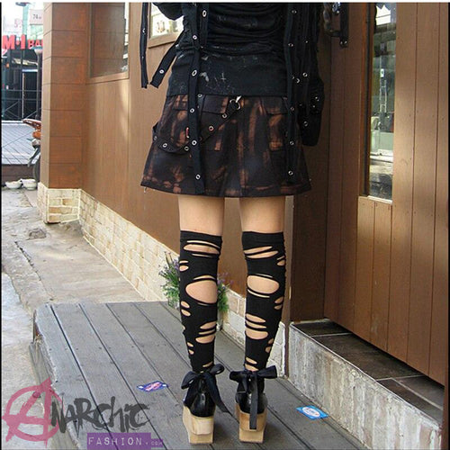 Holey Punk Stockings