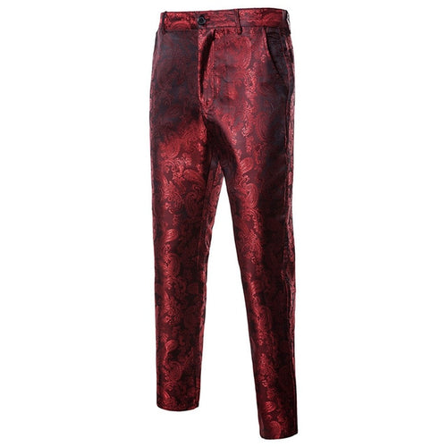 Smart Paisley Dress Pants