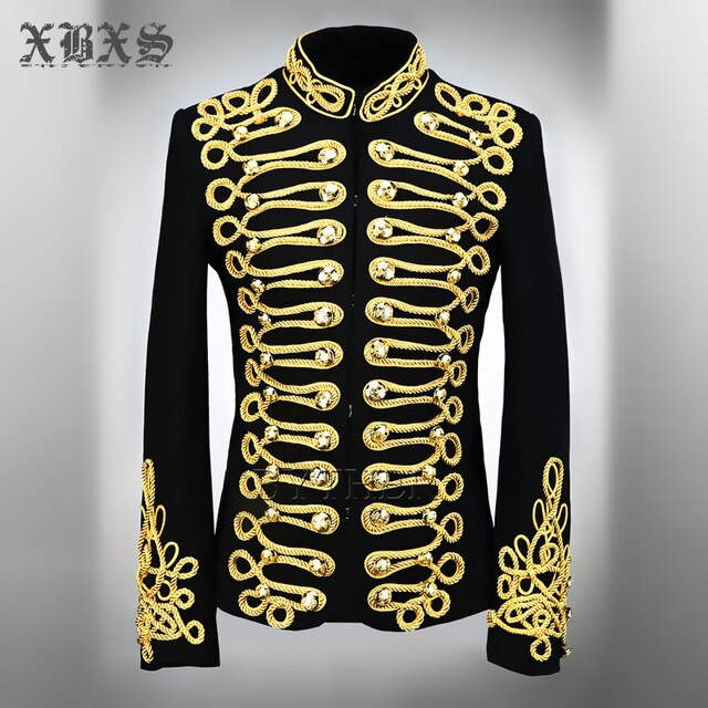 Gold Embroidered MJ Style Jacket