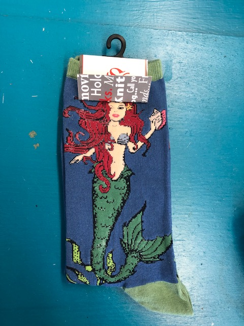 Womens Mermaid Sock