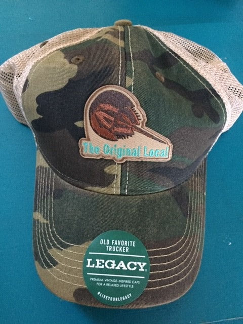 Original Local Horseshoe Crab Trucker Hat