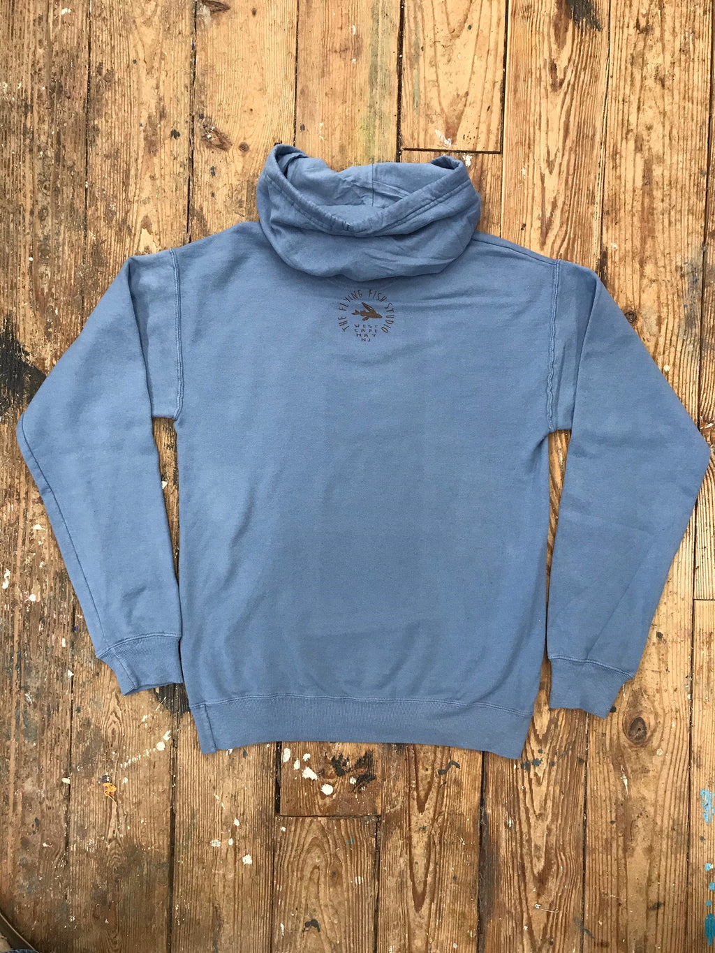 HORSESHOE CRAB HOODED SWEAT