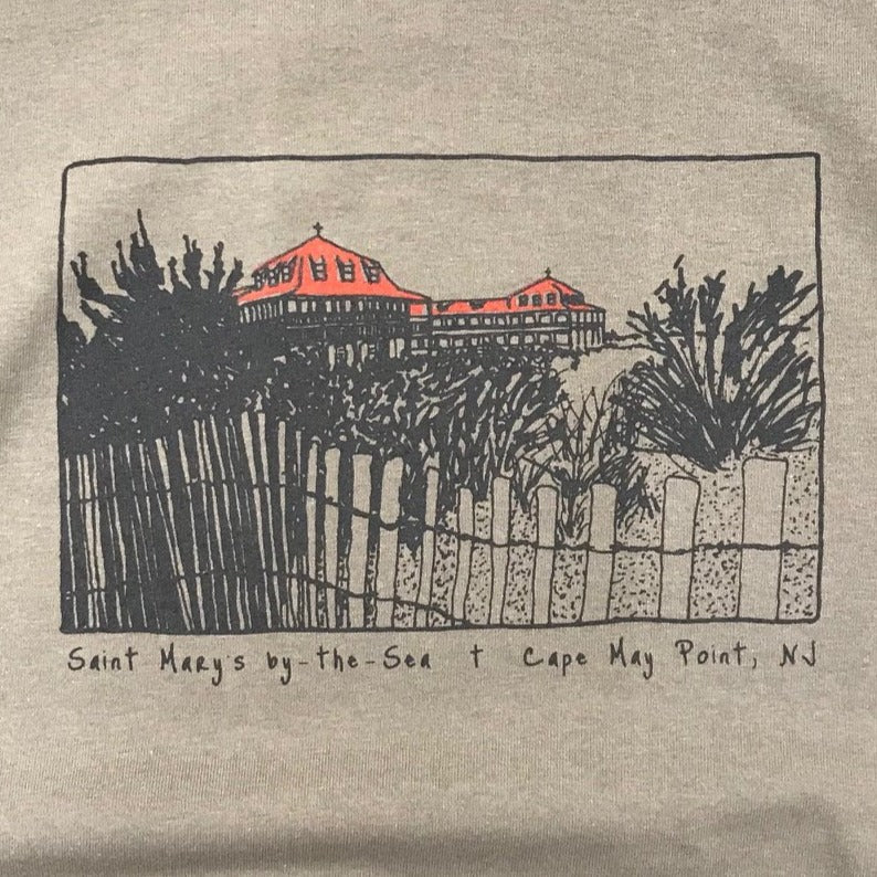 Saint Mary's by-the-Sea Unisex Tee