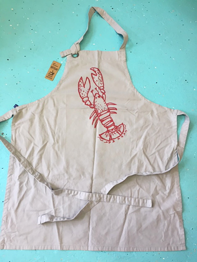 Artizan Apron with Lobster Design