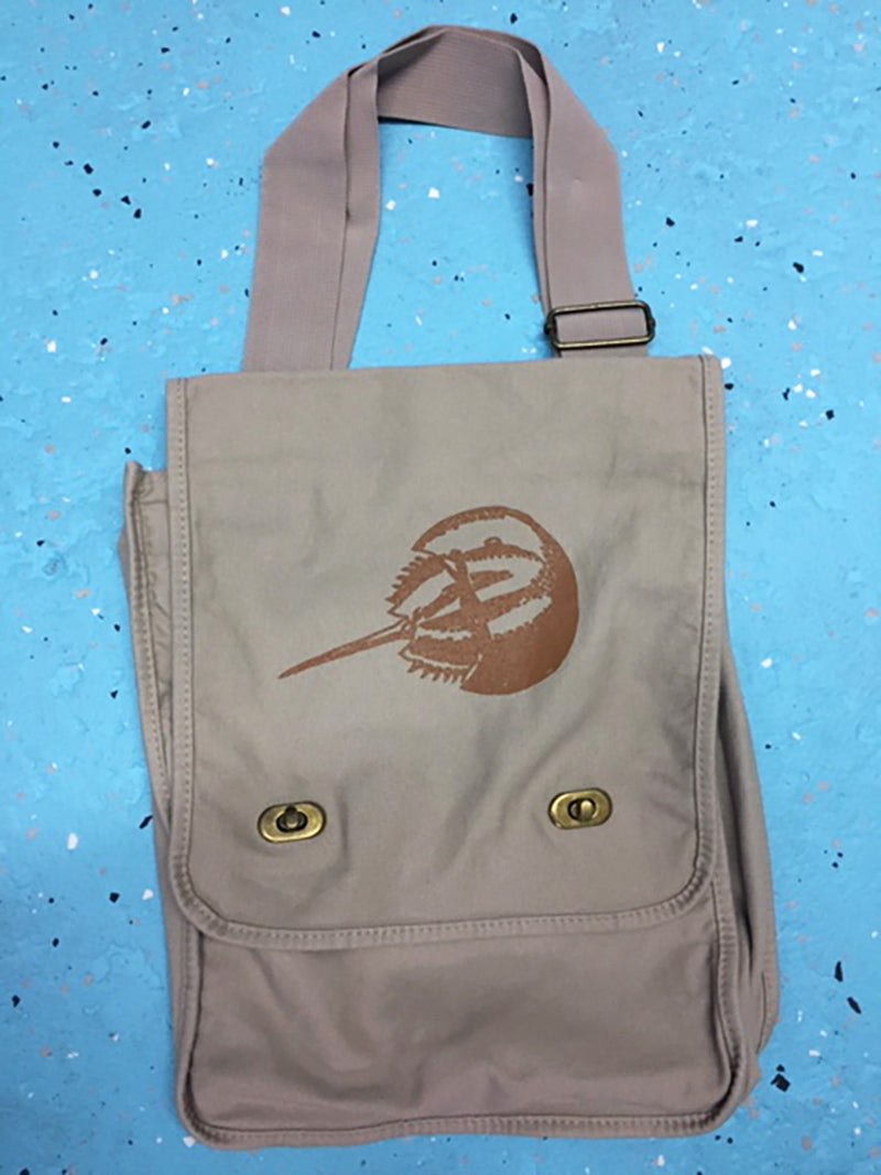 Field Bag with Horseshoe Crab