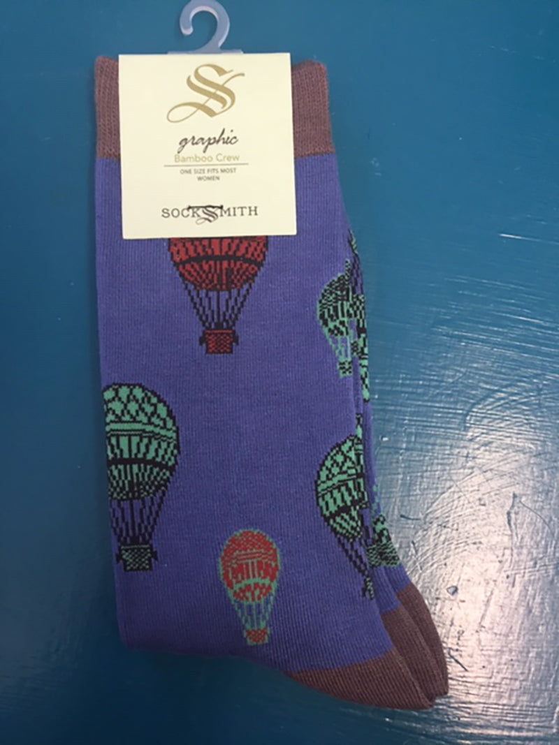 Ladies Hot Air Balloon Socks