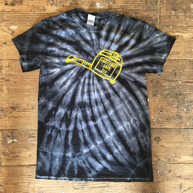 Tie Dyed  Safe Six Tee