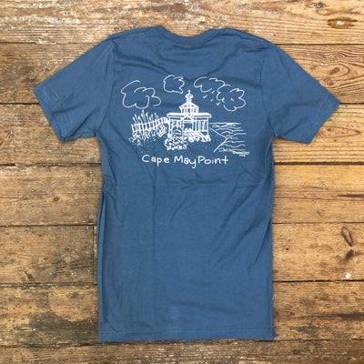 Cape May Point - SS Tee