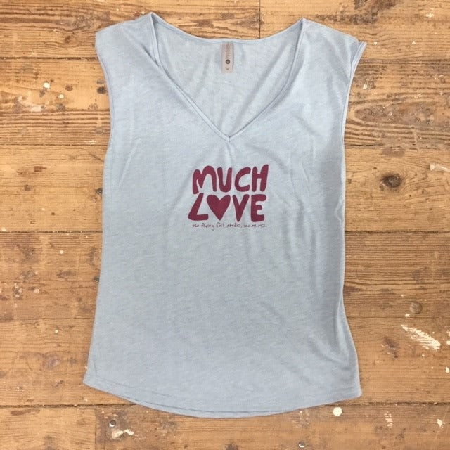 Much Love Ladies Sleeveless Tank
