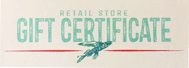 Gift Certificate - In Store