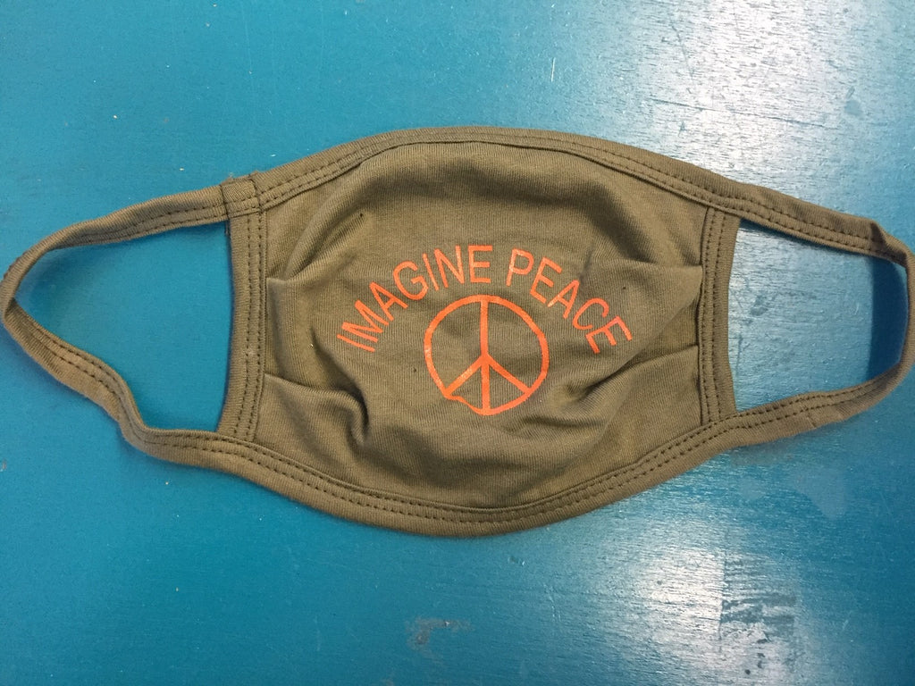 Imagine Peace Face Mask