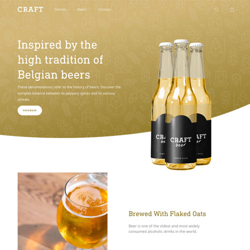 Moist Shopify Theme - Demo Beer