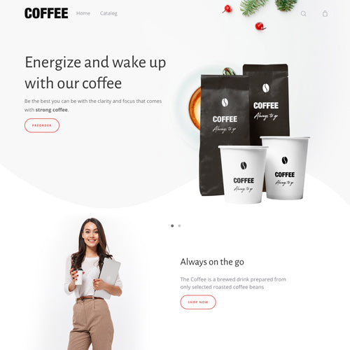 Moist Shopify Theme - Demo Coffee