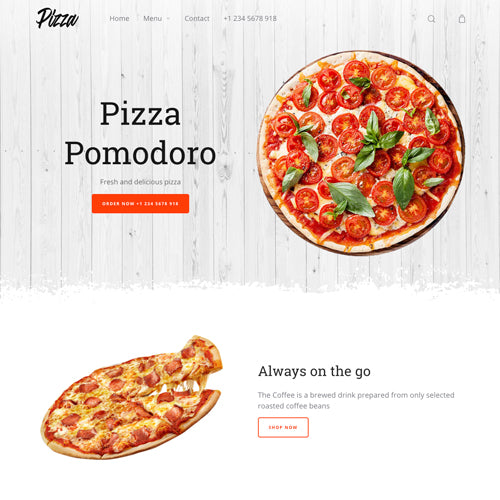 Moist Shopify Theme - Demo Pizza