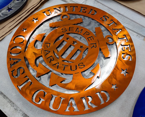 "18"" US Coast Guard Insignia"