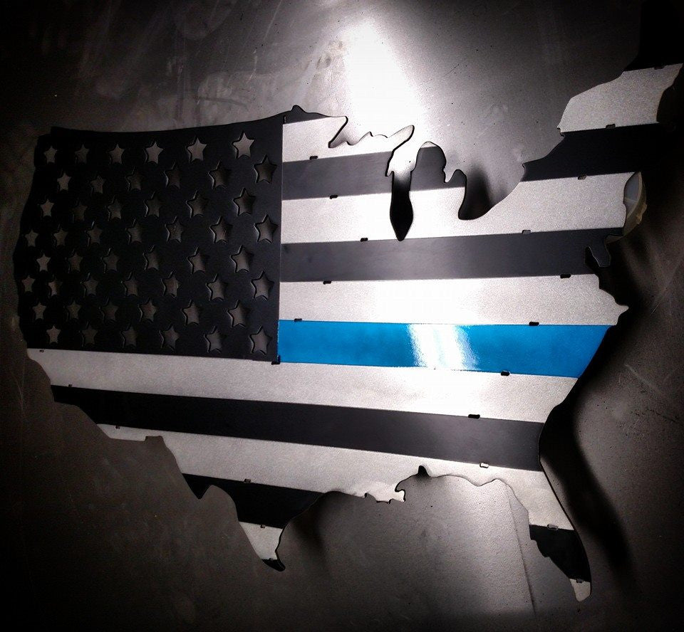 "30"" U.S. Thin Blue line Flag"