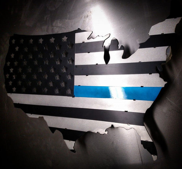 "36"" U.S. Thin Blue line Flag"