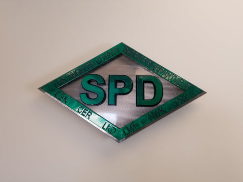 "24"" LA Sheriff Dept SPD sign"