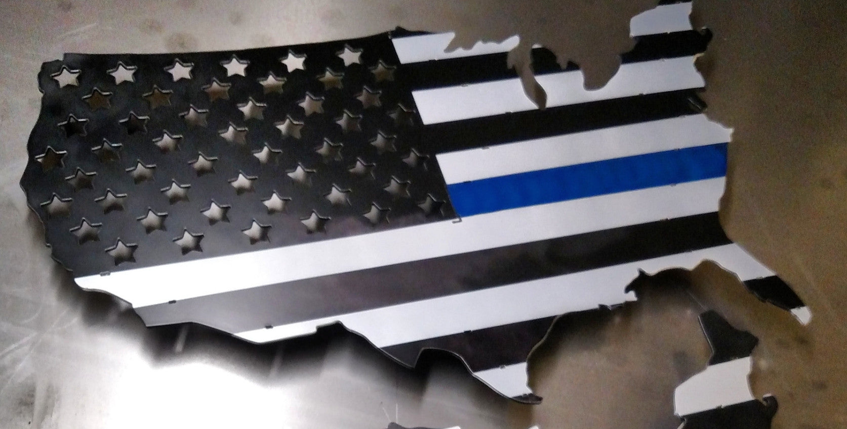 "24"" U.S. Thin Blue line Flag"
