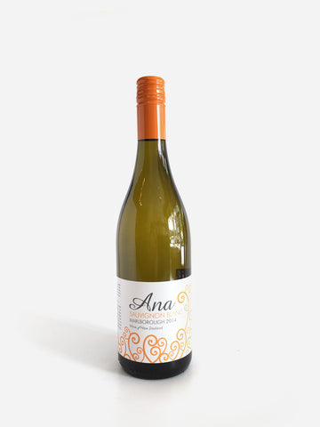 Ana, Sauvignon Blanc, Marlborough, 2017, 750ml - Corkscrew Wines Brooklyn