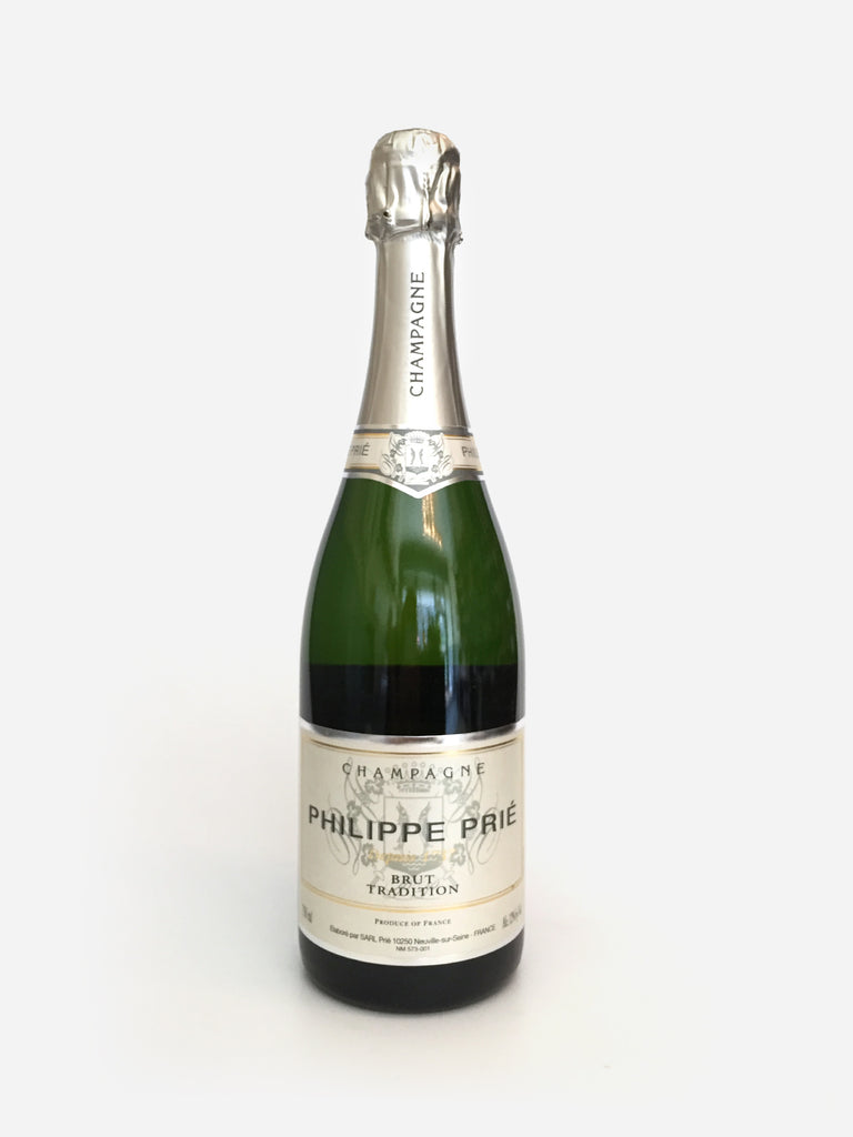 Philippe Prie, Brut Traditions, Champagne NV 750ml - Corkscrew Wines Brooklyn