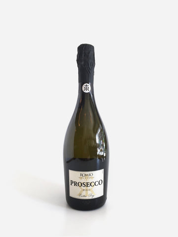 Romio, Prosecco Extra Dry, NV, 750ml - Corkscrew Wines Brooklyn
