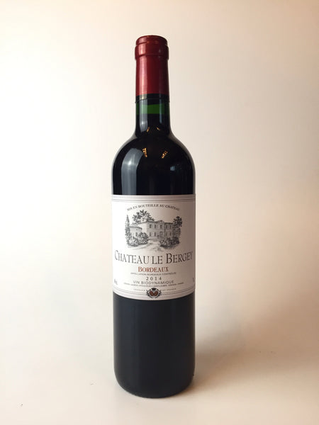 Chateau Le Bergey, Bordeaux, France, 2016, 750ml - Corkscrew Wines Brooklyn