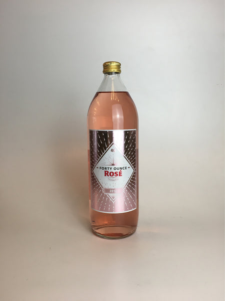 Julian Braud, Forty Ounce Rosé, Loire Valley, 2017, 1L - Corkscrew Wines Brooklyn