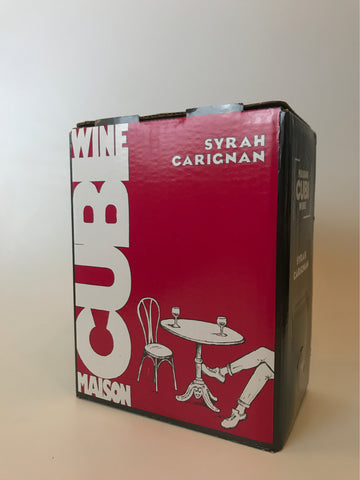 Maison Cubi Red, Syrah and Carignon 2016, 3Liters