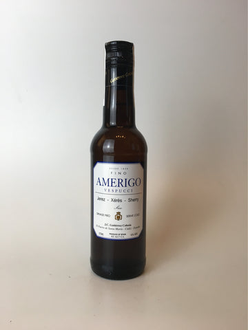 Gutierrez Colosia, Fino Amerigo Sherry, Jerez NV 375ml - Corkscrew Wines Brooklyn