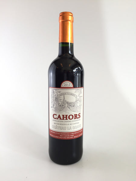 Chateau La Grave, Malbec, Cahors, 2014, 750ml - Corkscrew Wines Brooklyn