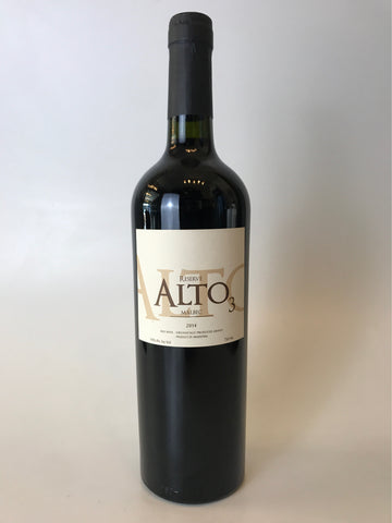 Alto3, Malbec Reserva, Malbec, Catamarca, 2015, 750mL - Corkscrew Wines Brooklyn