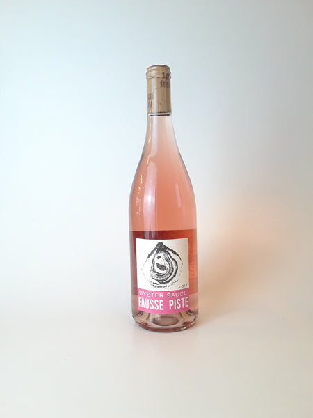 "Fausse Piste ""Oyster Sauce"" Rosé, Oregon 2017, 750mL - Corkscrew Wines Brooklyn"