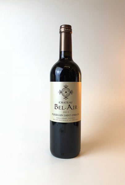 Chateau Bel Air, Puisseguin, Merlot - Cabernet Sauvignon, Saint Emilion, France, 2015, 750ml - Corkscrew Wines Brooklyn