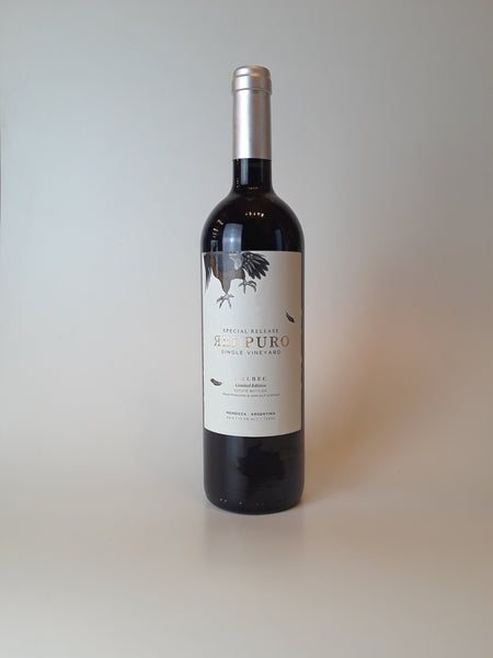 Red Puro, Special Release Malbec, 2015, 750ml
