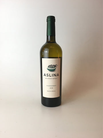 Aslina, Chardonnay, South Africa 2017, 750mL - Corkscrew Wines Brooklyn