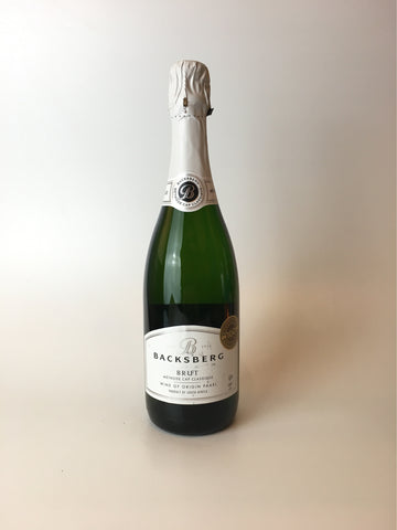 Backsberg Kosher Brut, Paarl South Africa, NV 750ml - Corkscrew Wines Brooklyn