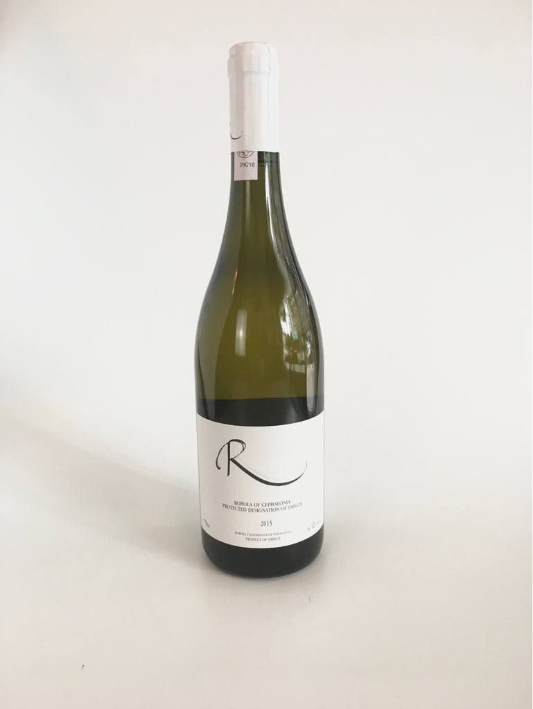 Robola Cooperative Of Cephalonia, 'R', Cephalonia Greece, 2017, 750mL - Corkscrew Wines Brooklyn